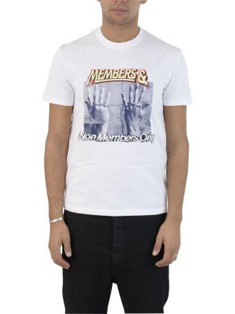 White Printed S/s T-shirt