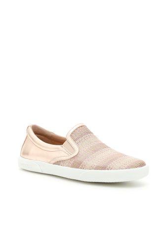 Metallic Nappa Sneakers