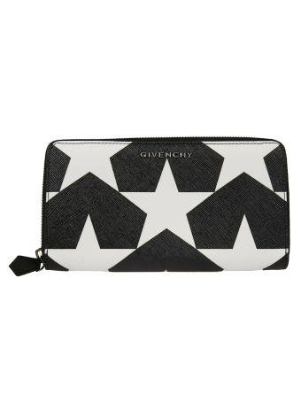 Givenchy Star Zip Around Wallet