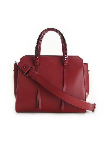 Elena Ghisellini Red Sensua Tote Bag