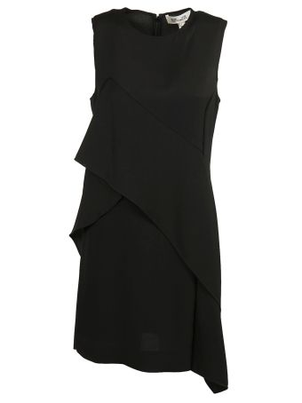 Diane Von Furstenberg Sleeveless Ruffle Front Dress
