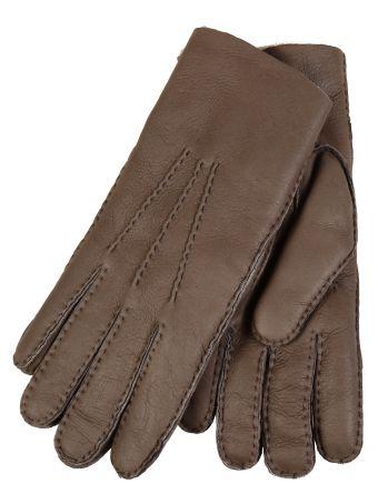 Restelli Lamb leather finishing Hand-Stitched Gloves