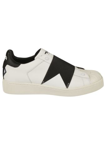 Master of Arts Leather Slip-On Sneakers