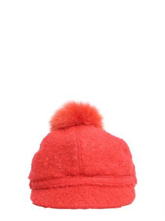 Bouclé Wool Cap