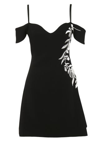 Cinq A Sept Floral Embroidery Dress