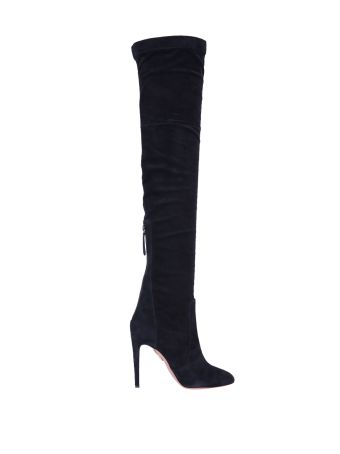 Aquazzura Over-the-knee Suede Boots