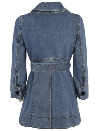 Marni Belted Denim Jacket
