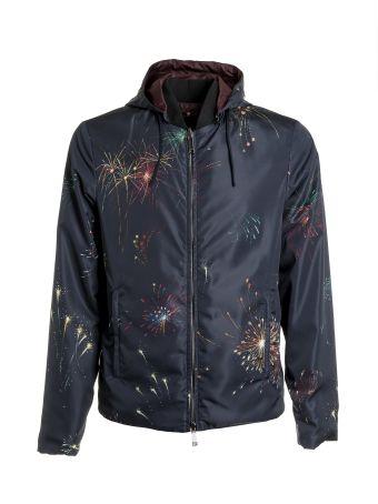 Valentino Fireworks Print Jacket