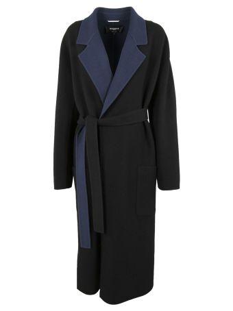 Rochas Belted Long Coat