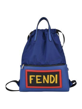 Fendi Maxi Logo Backpack