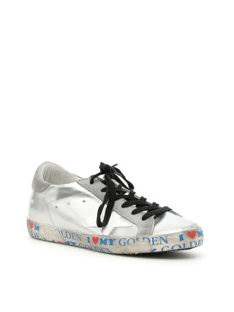 Laminated Superstar Sneakers