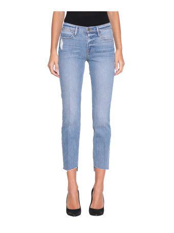 Frame Cotton Denim Jeans