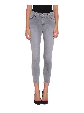 J Brand Alana Cotton Denim Jeans