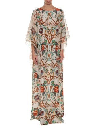 Alberta Ferretti Printed Long Dress