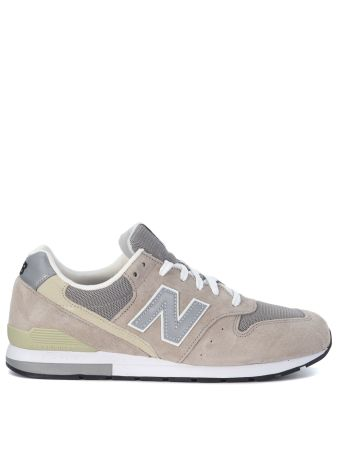 Sneaker New Balance 996 Revlite In Grey Suede And Mesh Fabric