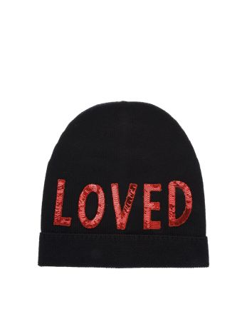 Gucci Loved Wool Beanie Hat
