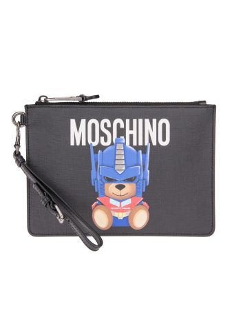 Moschino Transformer Teddy Clutch