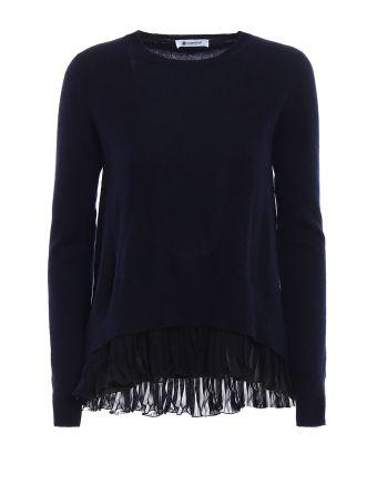 Chiffon And Cashmere Blend Sweater