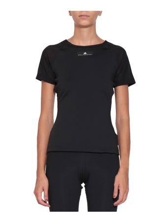Adidas by Stella McCartney Cut-out T-shirt