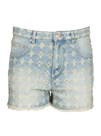 Isabel Marant Etoile High-waisted Denim Shorts