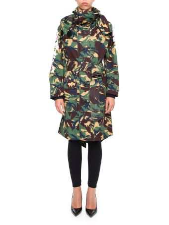 Camouflage Diag Parka