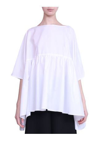 Vivetta Sparta Popelin Cotton Blouse