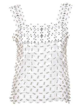 Paco Rabanne Sequin Embellished Top
