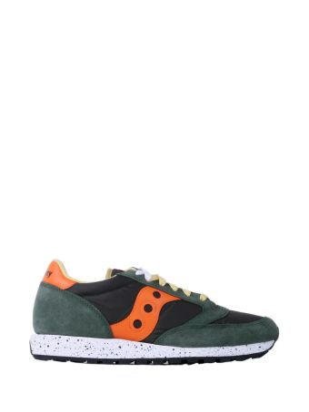 Saucony Green-orange Man Jazz Original Running Shoes