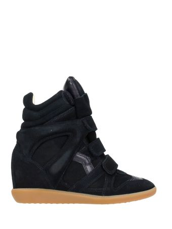 Isabel Marant Bekett Black Suede Sneakers