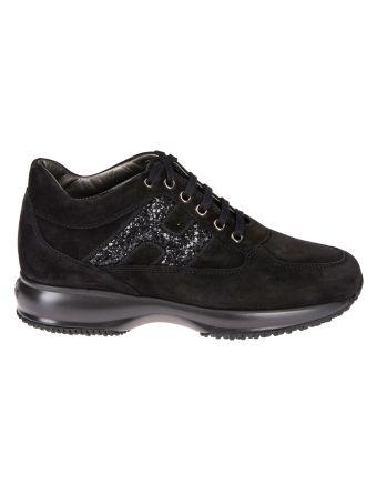 Hogan Glitter Interactive Sneakers