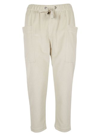 Brunello Cucinelli Cropped Corduroy Trousers