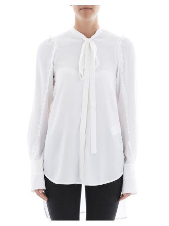 White Acetate Sweatshirt