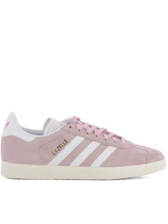 Pink Suede Sneakers