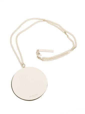 Givenchy Circular Pendant Necklace