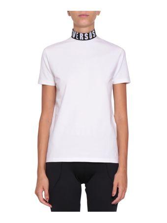 Versus Logo Cotton T-shirt