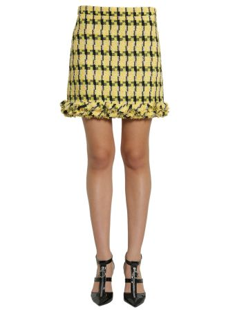 Short Tweed Skirt