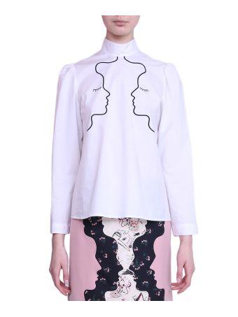 Vivetta Montenegro Popelin Cotton Shirt