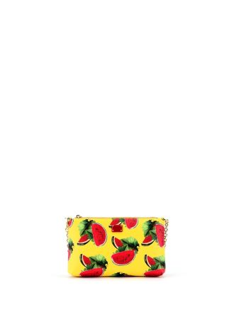 Yellow Watermelon Print Micro Bag