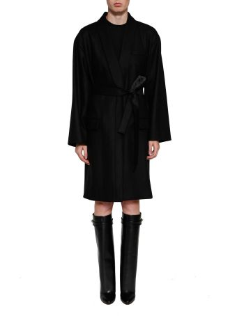 Givenchy Wrap Long Trench