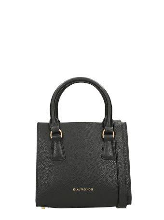 L'Autre Chose Mini Bag Merinos Black Leather