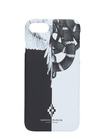 Marcelo Burlon Snake Wing Black Plastic Cover