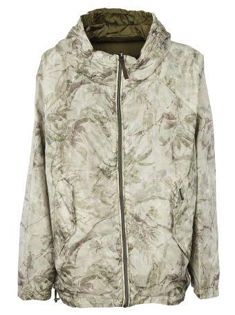Woolrich Printed Reversible Jacket