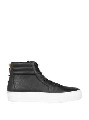 Buscemi 140mm Leather Sneakers