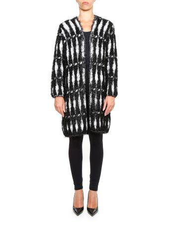 Lurex Knit Coat