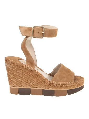 Paloma Barcelo' Sandalo Lisette Suede Colour Leather