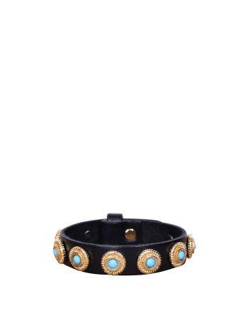Dodo Bar Or Linda Leather Bracelet