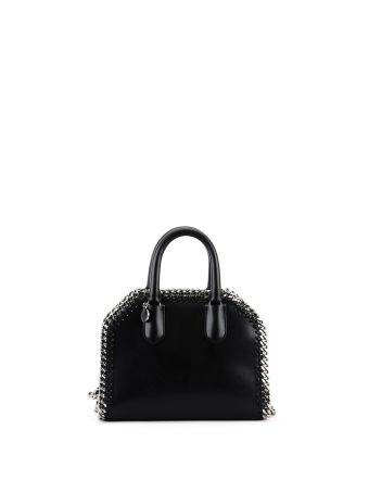 Black Alter Nappa Falabella Mini Box Bag