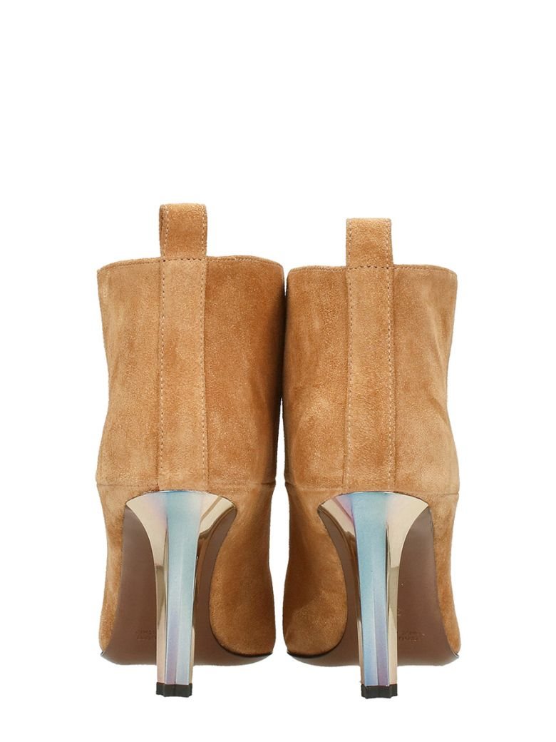 GOLDEN GOOSE Elsa Suede Boots in Leather Color
