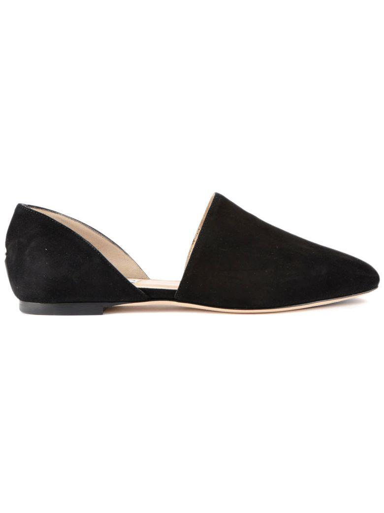 jimmy choo jimmy choo globe d orsay slippers black