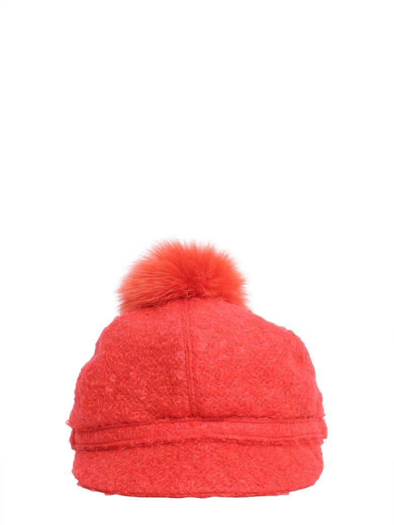 Borsalino Bouclé Wool Cap